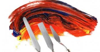 Materiel pour peinture acrylique sur toile