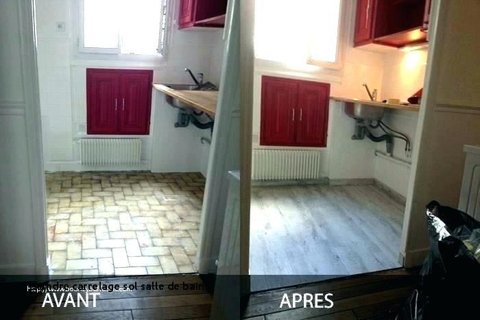 Peindre carrelage sol salle de bain avant apres - Peinture resine pour carrelage salle de bain ...