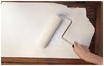 Peindre meuble cuisine en blanc