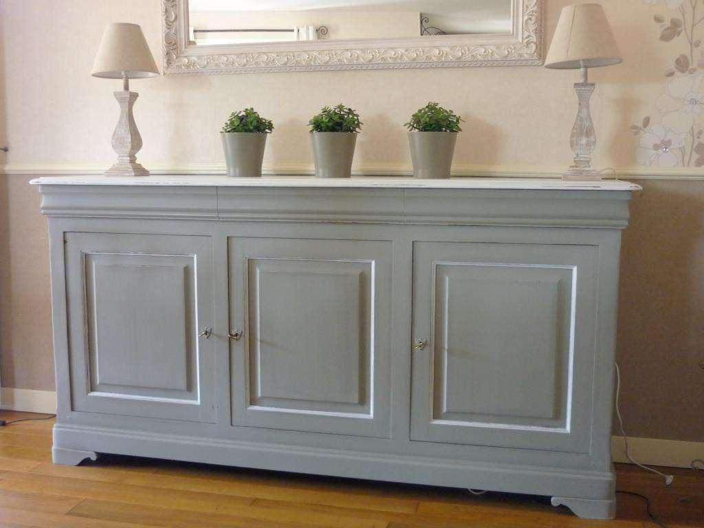 Peinture acrylique meuble bois