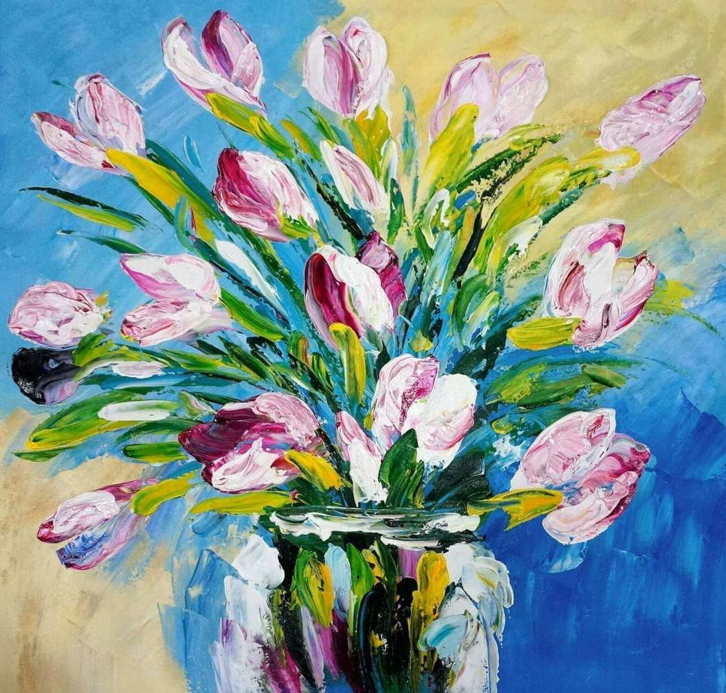 Peinture acrylique sur toile definition