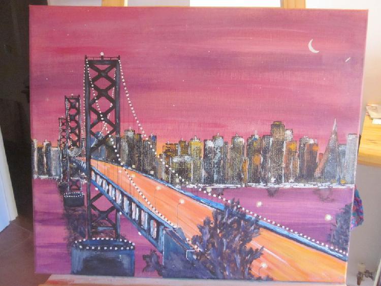 Peinture acrylique new york