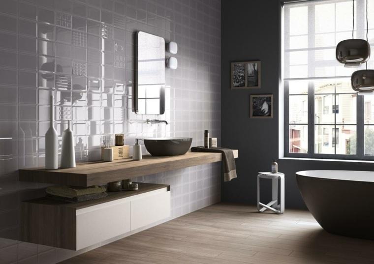 Peinture carrelage salle de bain gris - Livreetvin.fr