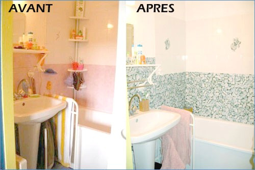 Meilleure peinture carrelage salle de bain