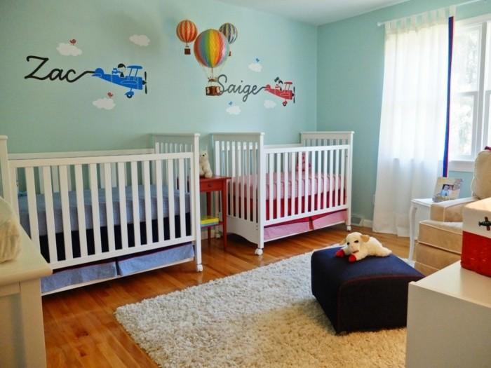 Peinture décoration chambre bébé