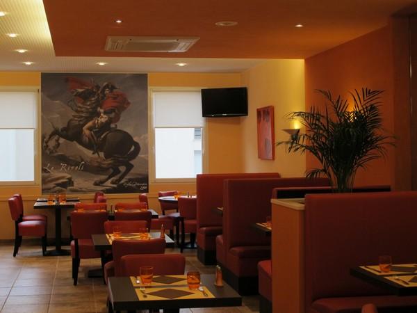Peinture restaurant décor