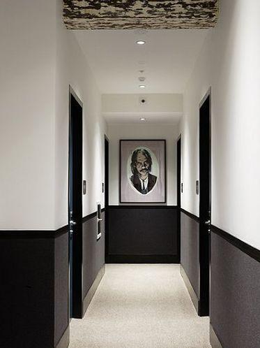 Peinture maison couloir