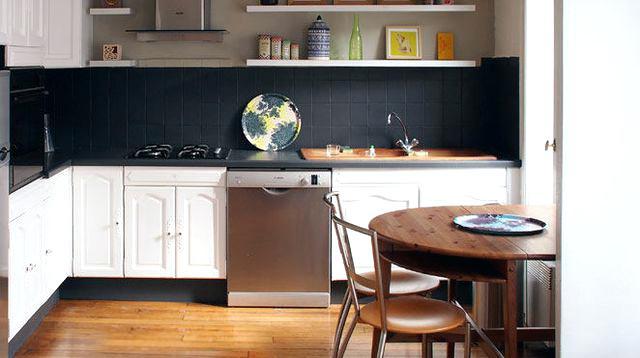 Peindre faience cuisine en blanc Peindre de la faience