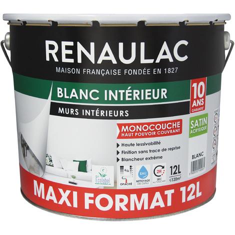 Enlever peinture acrylique sur mur blanc
