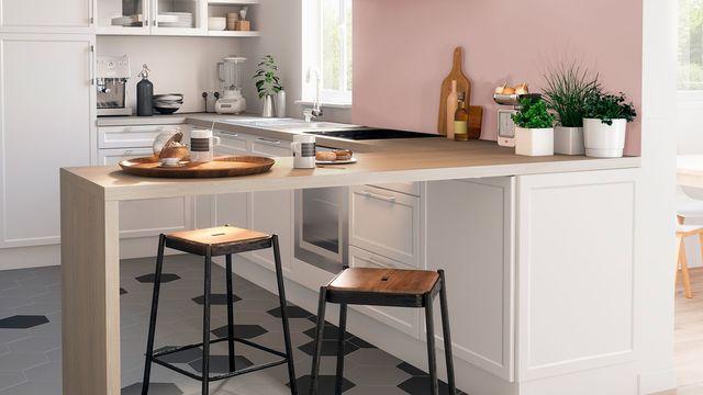 Quelle peinture pour cuisine blanche et bois