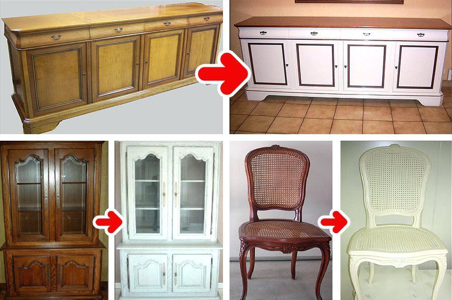 Comment peindre une cuisine en bois verni - Comment peindre une cuisine en bois ...