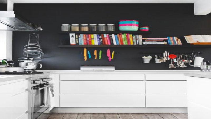 Deco peinture mur cuisine