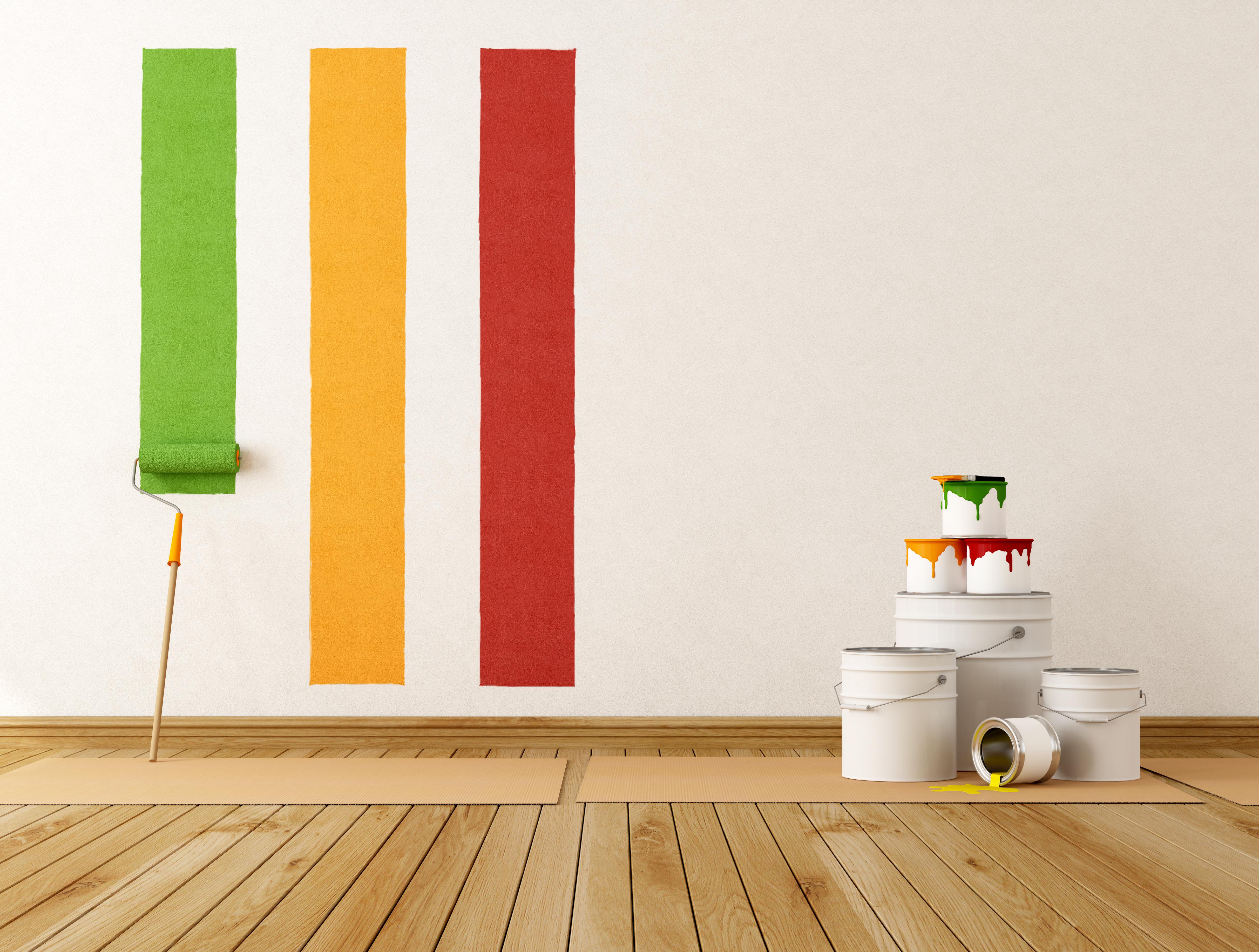 Peinture acrylique magasin