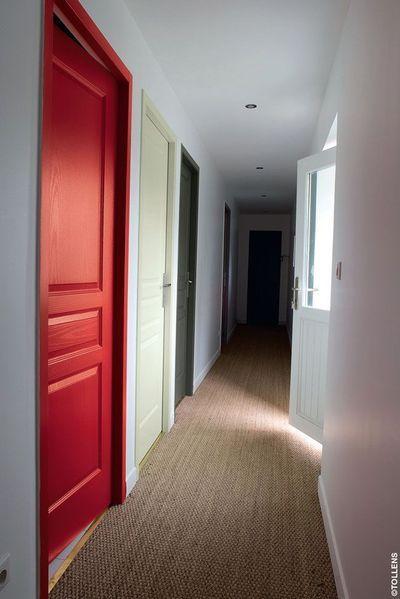 Peinture decoration couloir