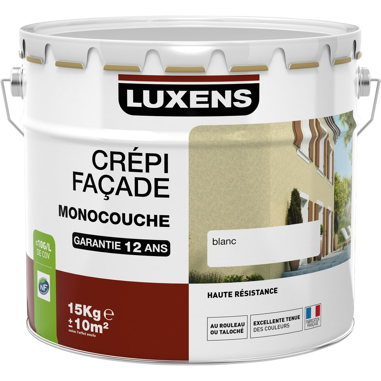 Peinture acrylique exterieur facade
