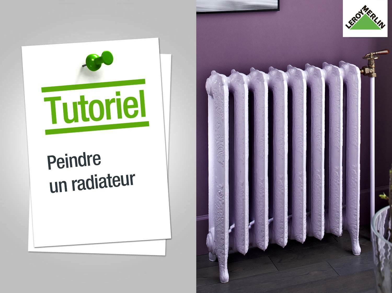 Devis peinture radiateur fonte