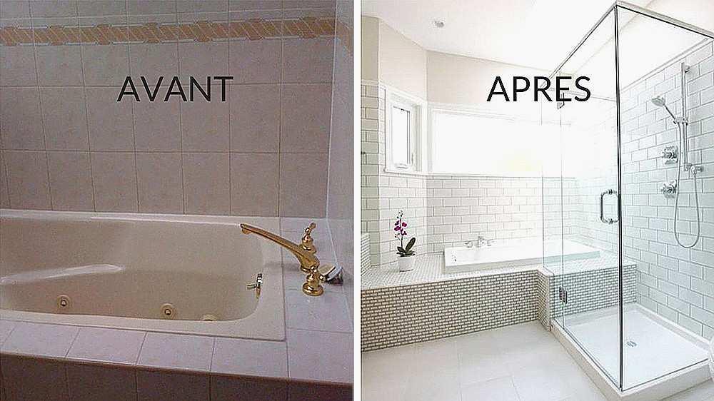 Peinture sur carrelage que faire Resine salle de bain