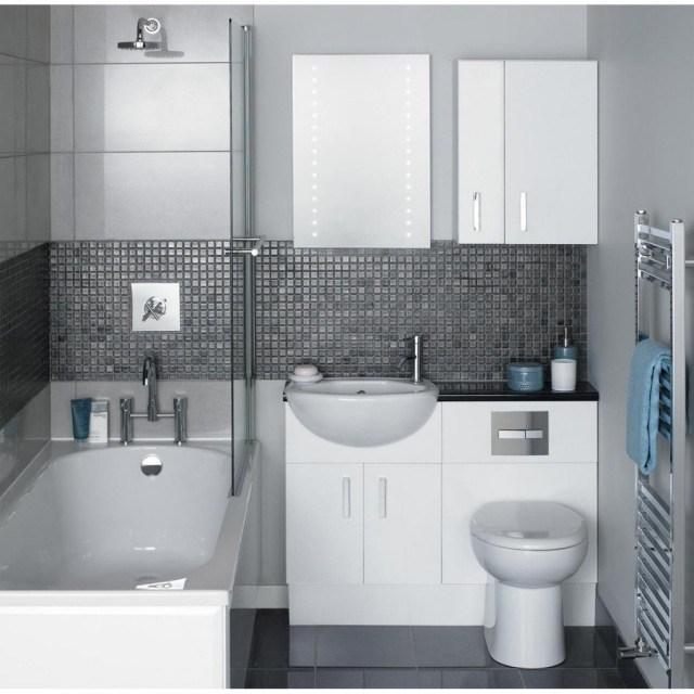 Peinture salle de bain avec carrelage gris
