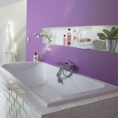Couleur de peinture carrelage salle de bain