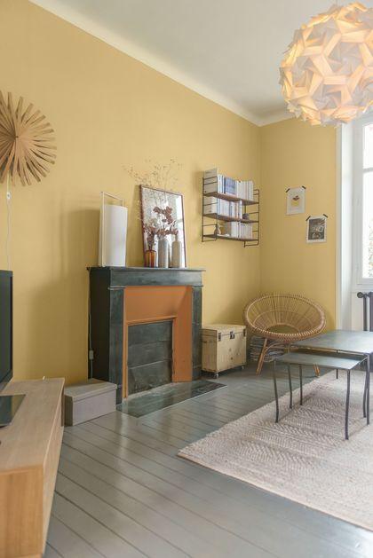 Deco peinture originale salon