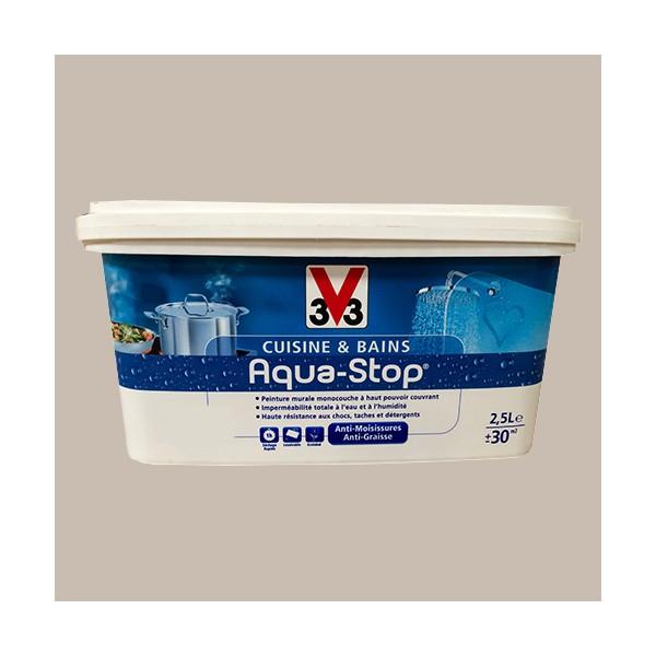 Peinture v33 cuisine et bains aqua-stop
