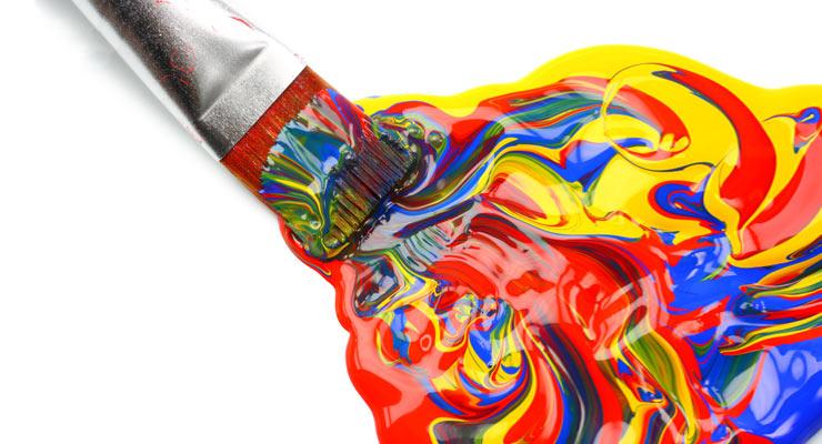 Peinture acrylique eau