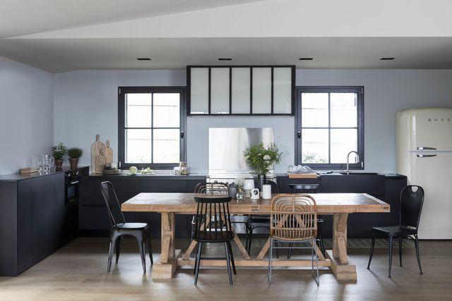 Idée peinture cuisine grise