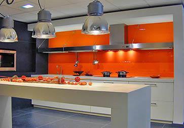 Peinture Cuisine Orange Livreetvin Fr