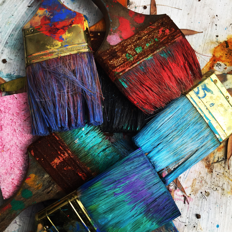 Peinture acrylique nettoyage vetement