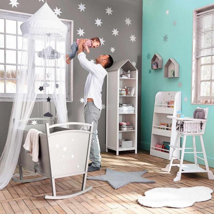 Peinture decoration chambre fille