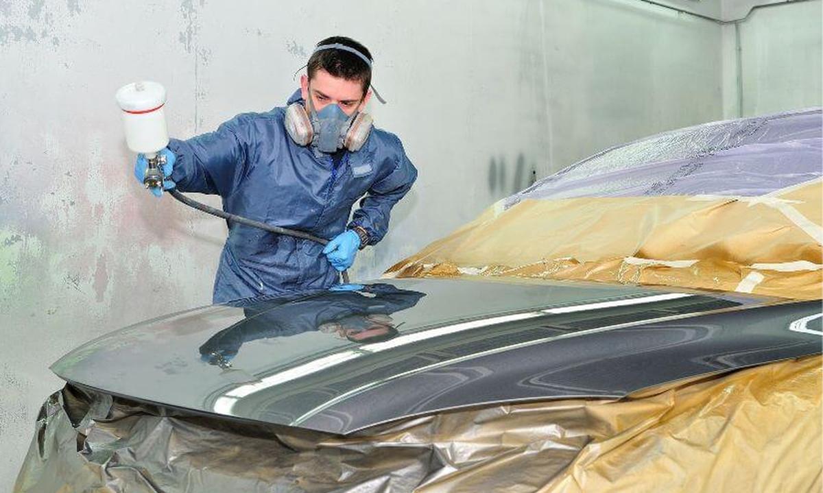 Tarif peinture capot voiture
