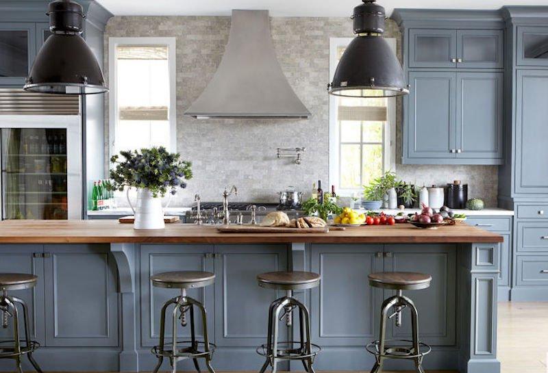 Peinture meuble cuisine grise