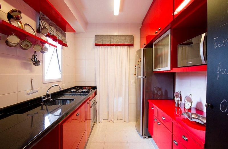 Couleur peinture pour cuisine rouge