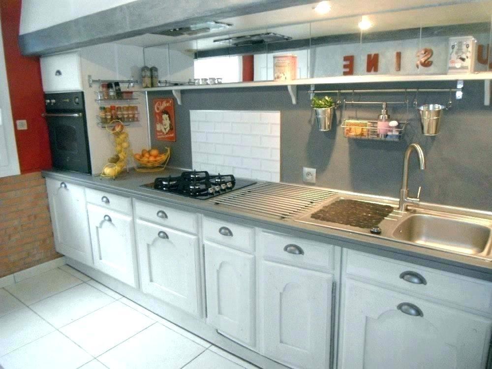 Renovation peinture cuisine en chene