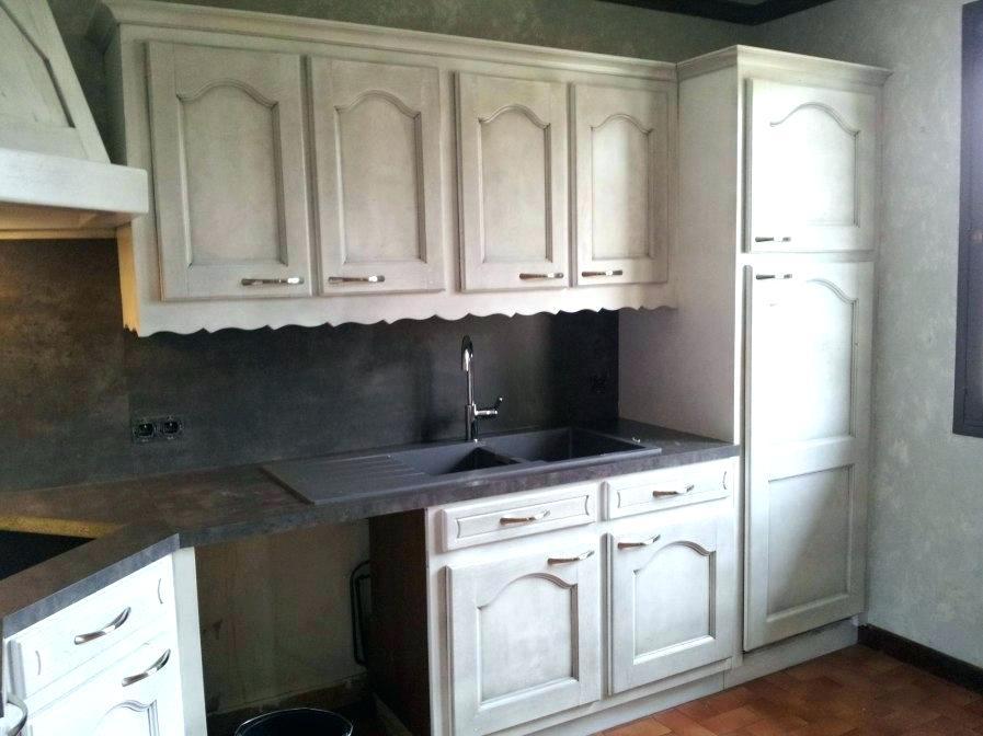 Peindre une cuisine en chene massif