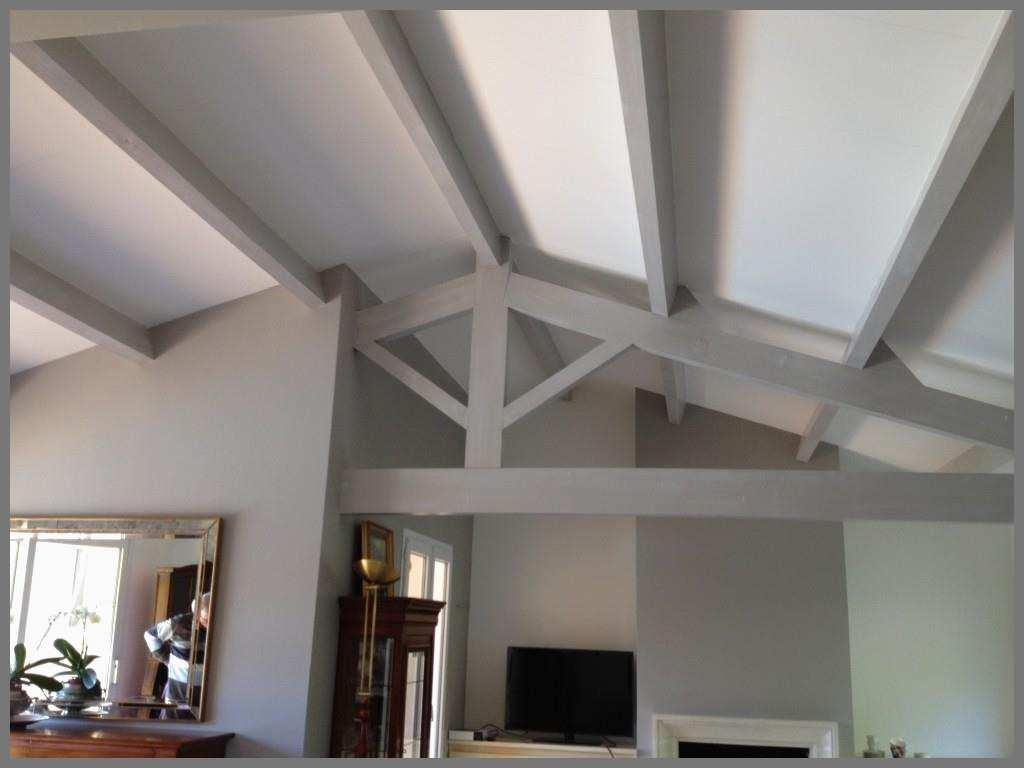 Prix peinture plafond avec poutres