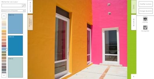 Simulateur peinture maison exterieur gratuit