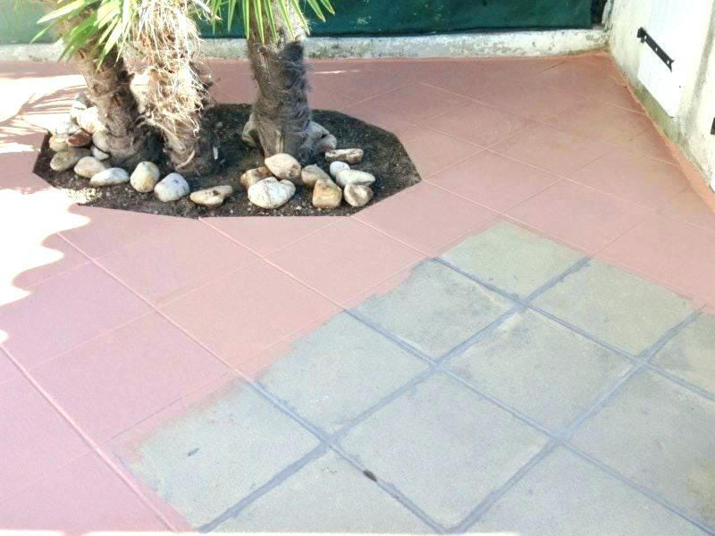 Peindre carrelage sol terrasse