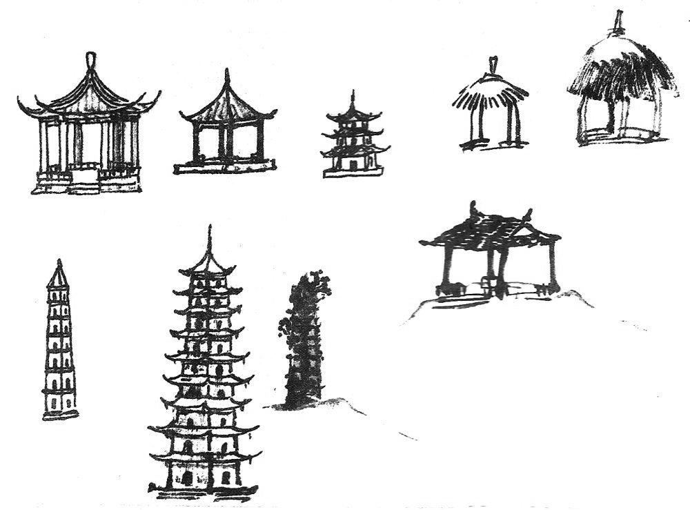 Peinture maison chinoise