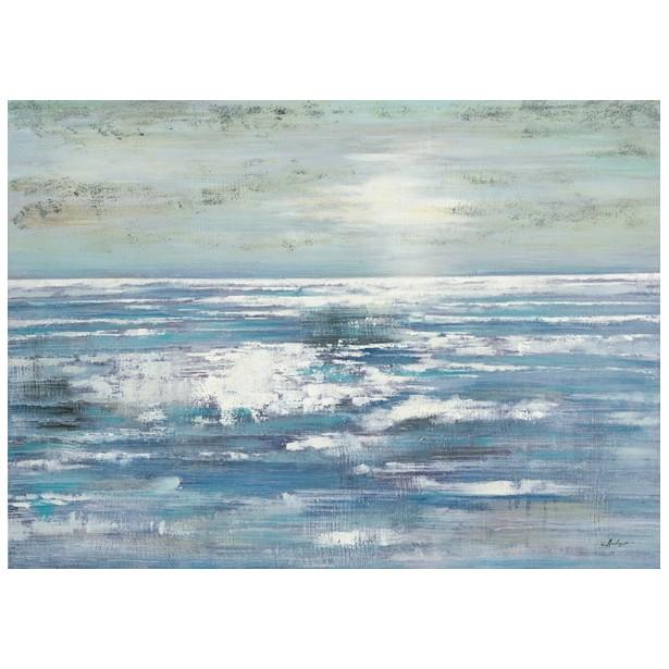 Peinture acrylique marine sur toile