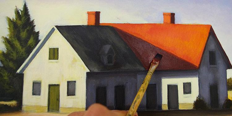 Apprendre la peinture acrylique sur toile