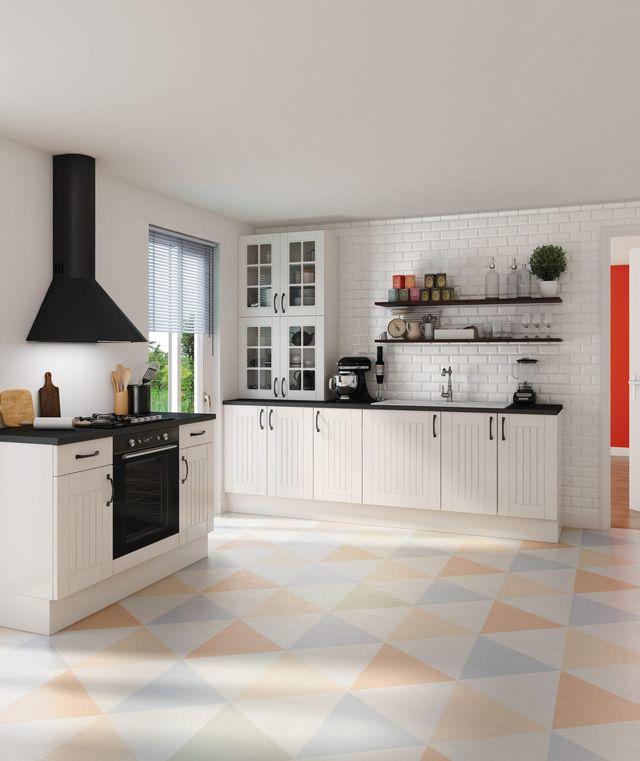 Peinture blanc mat pour cuisine