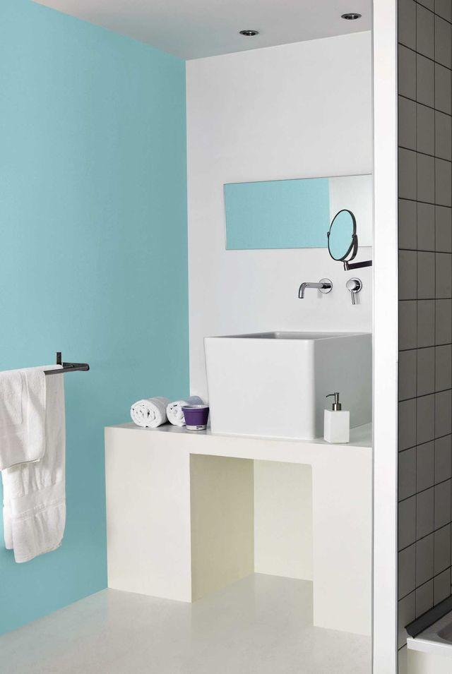 Peindre carrelage salle de bain relief