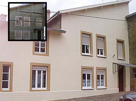 Peinture deco facade